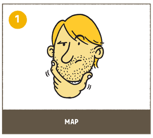 shave with the grain map out your stubble