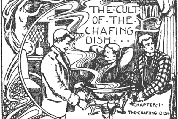 Image from 'The Cult of the Chafing Dish,' 1905