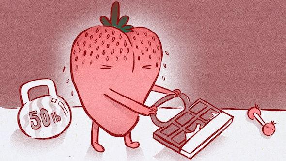 eating-rightish-strawberry