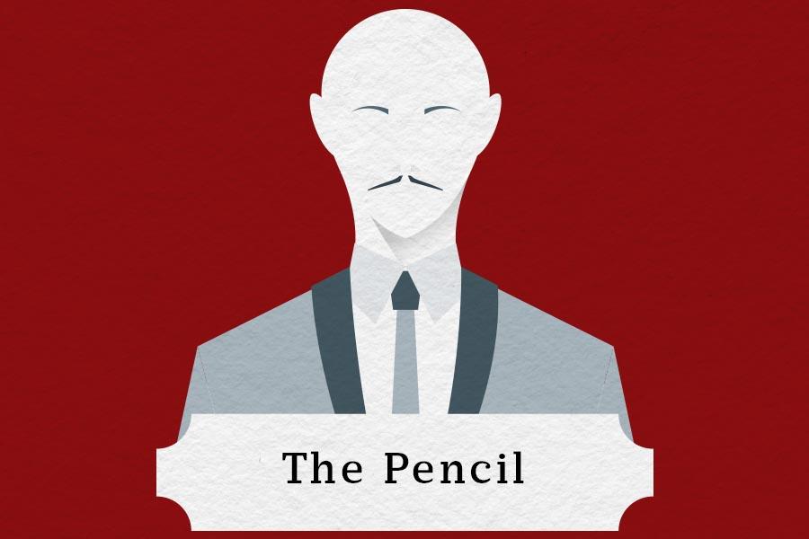 mustache styles pencil