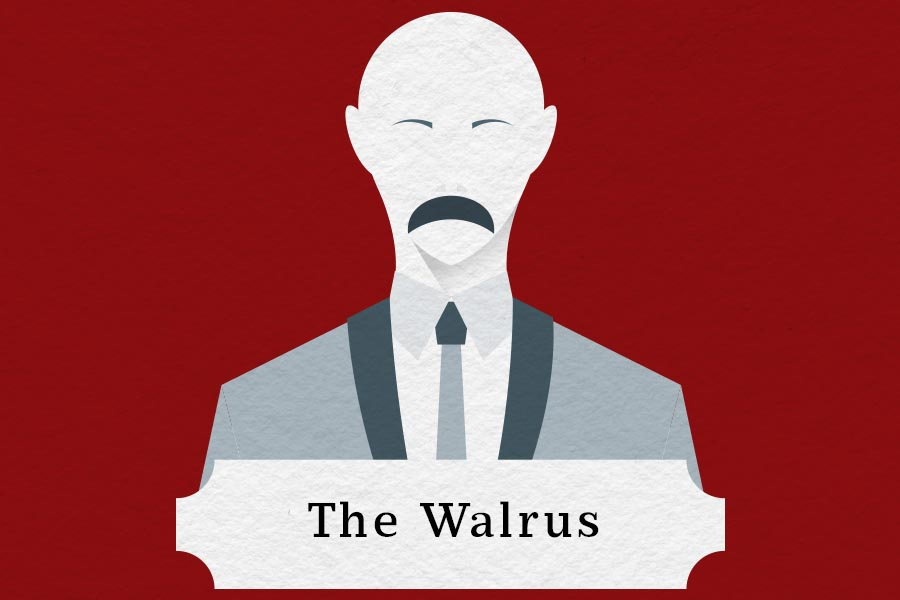 mustache styles walrus