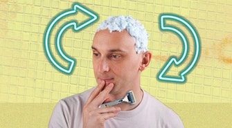 shaving head
