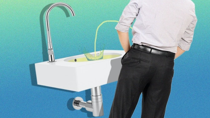 Why Men Pee In The Sink Dollar Shave Club Original Content