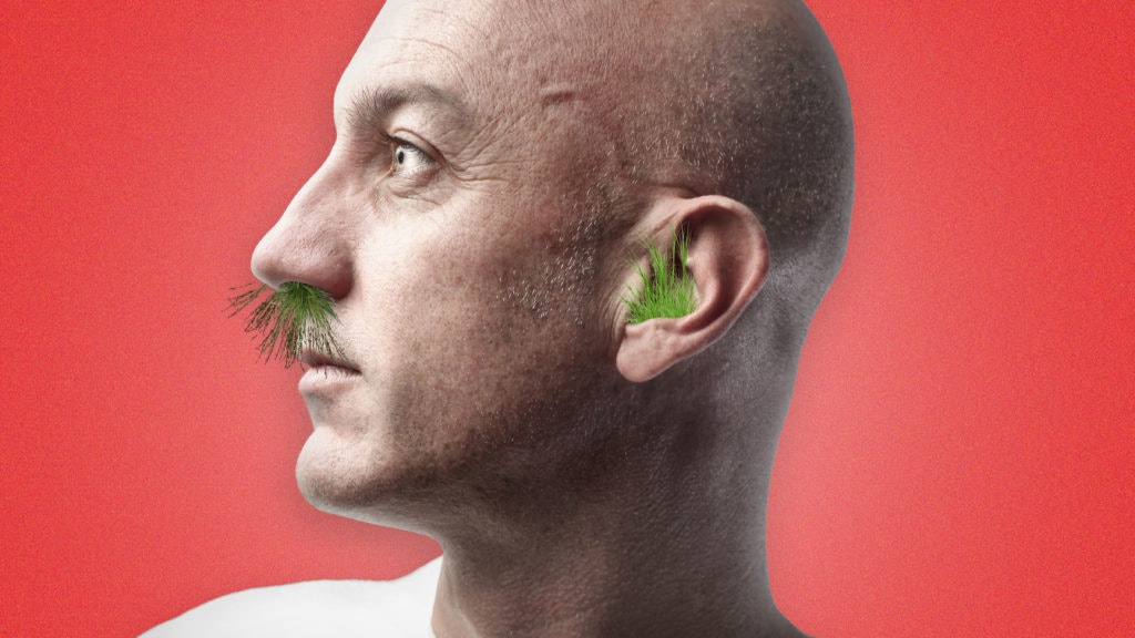 This Is Why Your Nose and Ear Hair Grow Wild When Your Head