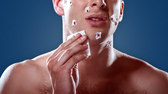 how to stop bleeding from shaving