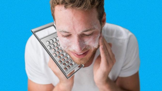 exfoliate-before-shaving