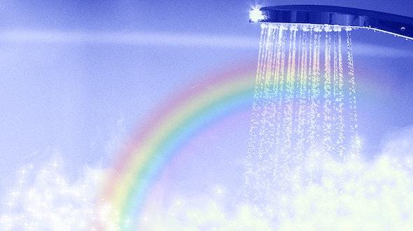 steamy shower