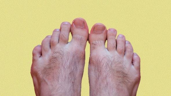 hairy feet